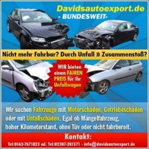 Ankauf von Autos mit Hagelschaden