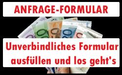 Anfrage Formular Autoankauf Wuppertal