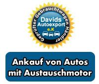 Ankauf von Autos mit Austauschmotor