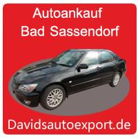 Auto Ankauf Bad Sassendorf