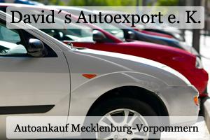 Autoankauf Mecklenburg-Vorpommern