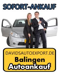 Autoankauf in Balingen