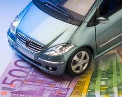 Verkauf finanzierter Autos