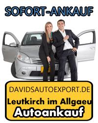 Autoankauf Leutkirch im Allgaeu