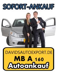 Autoankauf MB A 160