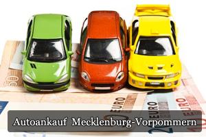 Autoankauf Mecklenburg-Vorpommern mit Bargeld