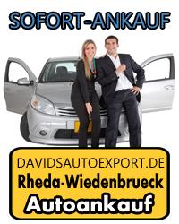 Autoankauf Rheda-Wiedenbrück