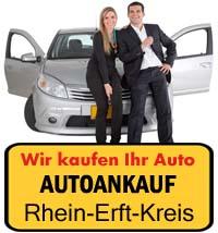 Autoankauf Rhein-Erft-Kreis