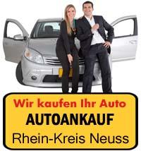 Autoankauf Rhein-Kreis Neuss