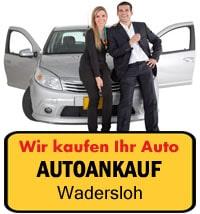 Autoankauf Wadersloh