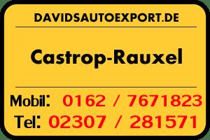 PKW Ankauf Castrop-Rauxel