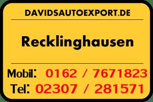 PKW Ankauf Kreis Recklinghausen