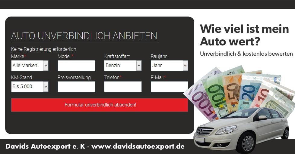 Kostenlose Autobewertung in Lüdenscheid