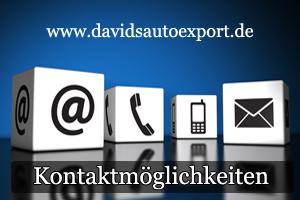 Autoexport Kontaktmöglichkeiten