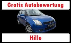 Kostenlose Autobewertung Hille