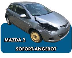 Mazda 2 Unfallwagen Ankauf mit Angebot