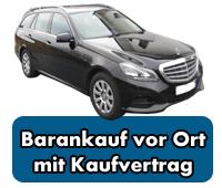 Mercedes-Benz Barankauf vor Ort