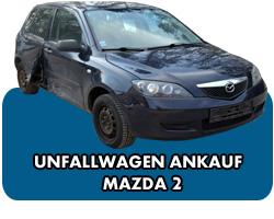 Unfallwagen Ankauf Mazda 2